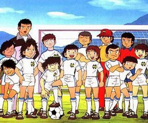 anime, campeones, and oliver y benji image