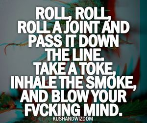 drugs, joint, and roll image