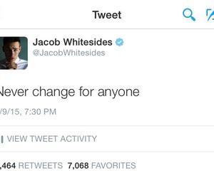 jacob whitesides, quotes, and tweet image