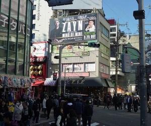 boy, city, and japan image