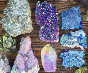 crystal, minerals, and rock image