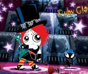 comic and ruby gloom image