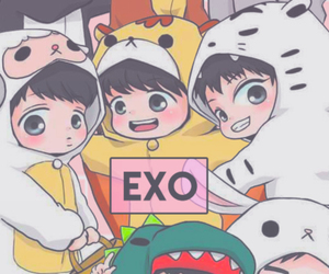 exo, kpop, and Chen image