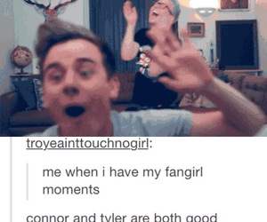 funny, tumblr, and fangirl image