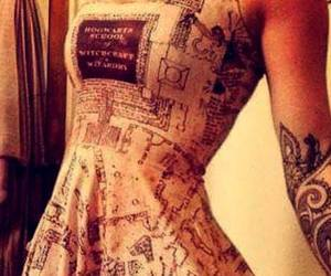 dress and harry potter image