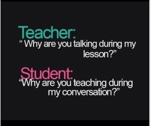 teacher, student, and funny image