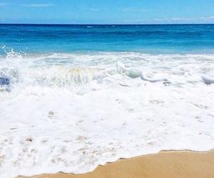beach, sand, and Sandy image