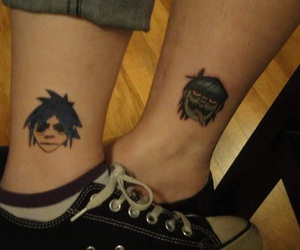 bands, gorillaz, and murdoc image