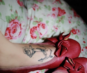 anchor, photography, and tattoo image