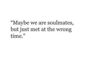 quote and soulmate image