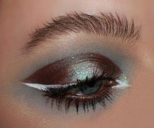 aesthetic, eye, and makeup image