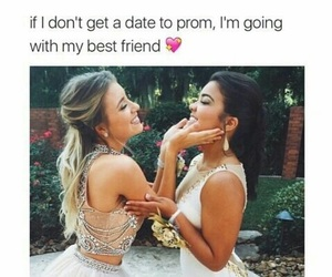 best friend, Prom, and friends image
