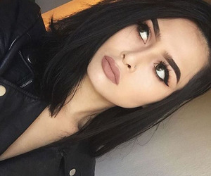 eyebrows, girl, and gorgeous image