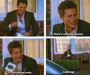 funny, parks and recreation, and chris traeger image