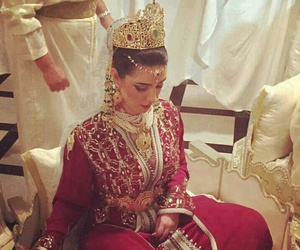 bride, beauty, and moroccan image