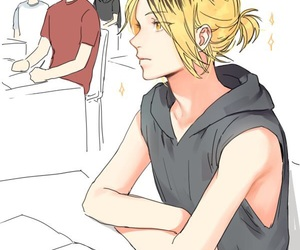haikyuu, kenma, and nekoma image