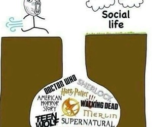 teen wolf, harry potter, and supernatural image