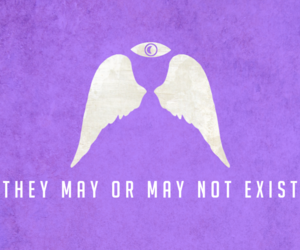 angels, background, and exist image