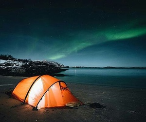 photography, travel, and northem lights image