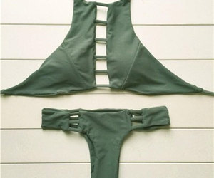 etsy, swimsuit, and halter top image