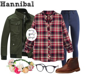hannibal, plus size, and will graham image