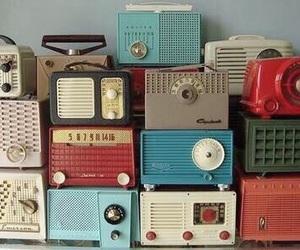 radio, vintage, and retro image
