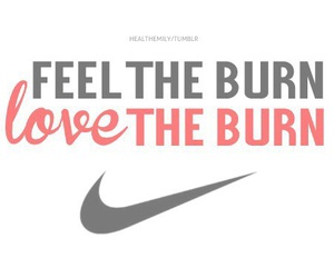 nike, motivation, and burn image
