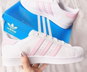 adidas, beauty, and pink image