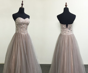 ball gown, etsy, and rhinestones image