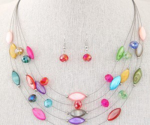 costume necklace, fashion necklace, and bohemian necklace image