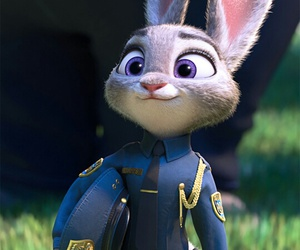 officer, zootopia, and judy hopps image