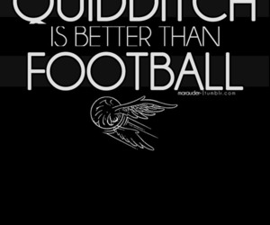 quidditch, harry potter, and football image