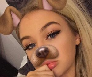 beautiful girl, blonde, and name? image