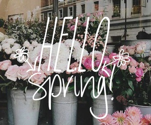 april, pretty, and rose image