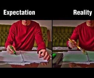 funny, reality, and school image