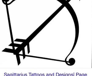 Sagittarius, tattoo, and zodiac image