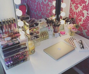 makeup, girly, and mac image