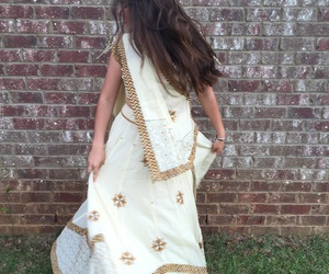 2016, dress, and indian image