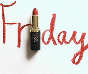 beaty, friday, and red image