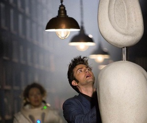 david tennant, doctor who, and river song image