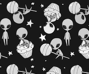 alien, many, and Ovni image