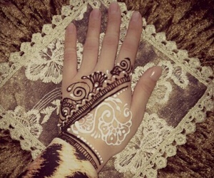 design, henna, and women image
