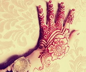 henna, women, and design image