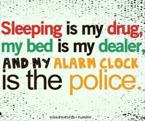 drugs, police, and sleep image