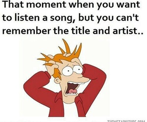 funny, song, and text image