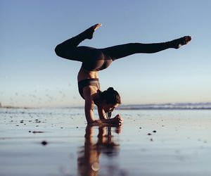 fit, inversion, and forearm stand image