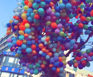 balloons, beauty, and bright image