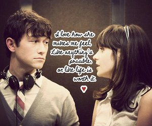 500 Days of Summer and love image