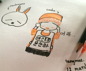 boy, fanart, and korean image