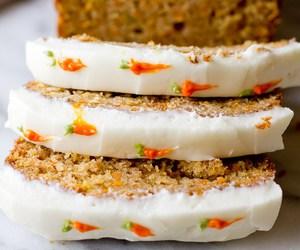 cake, carrot, and cream cheese image